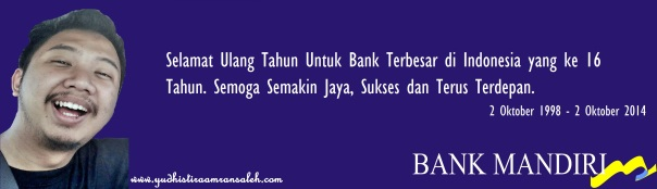 HUT Bank Mandiri