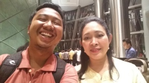 Bersama Mba Titiek Soeharto di Epicentrum. Acaranya Golkar